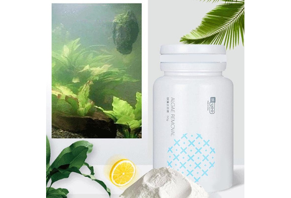 CrystalClear Algae Repellent Agent Tank Moss Remover Aquarium Algaecide 50g