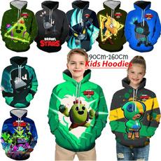 kids, 3D hoodies, Moda, kidshoodie