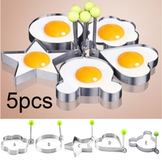Steel, cute, kitchenutensil, friedeggmold