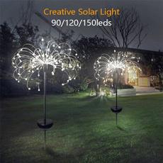 Outdoor, fireworklight, Garden, solarlightsoutdoor