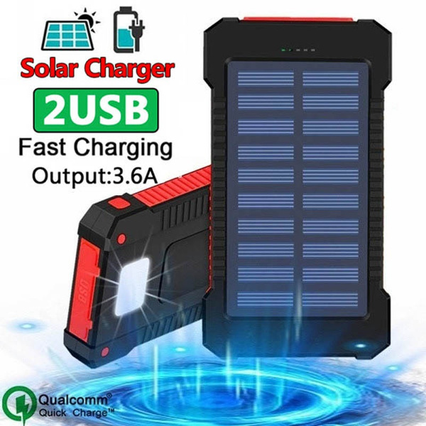 Best Portable Solar Charger 2021 2021 Style Best Gift !!! High Capacity Waterproof Solar Power Bank