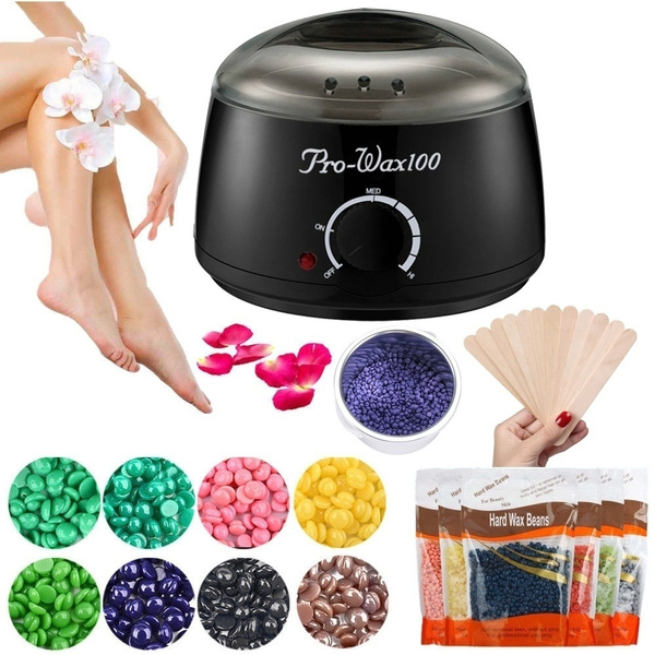 Wax Warmer Painless Hair Removal Hot Waxing Kit For Bikini Face