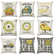 Summer, Home Decor, sofacushioncover, Farm