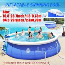 Summer, Fashion, Family, inflatableswimmingpool