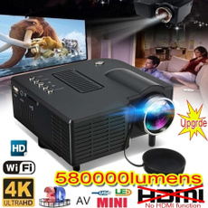 Mini, led, proyector4k, homecinema