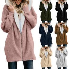 cardigan, fur, cardigan for women, winter coat