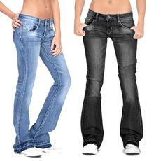 womens jeans, Plus Size, high waist, Casual pants