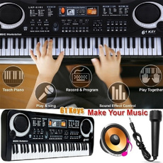 electricpiano, Microphone, Musical Instruments, Electric