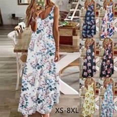 Summer, Moda, partydressesforwomen, plus size dress