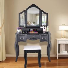 Makeup, Beauty, Wooden, woodenstool