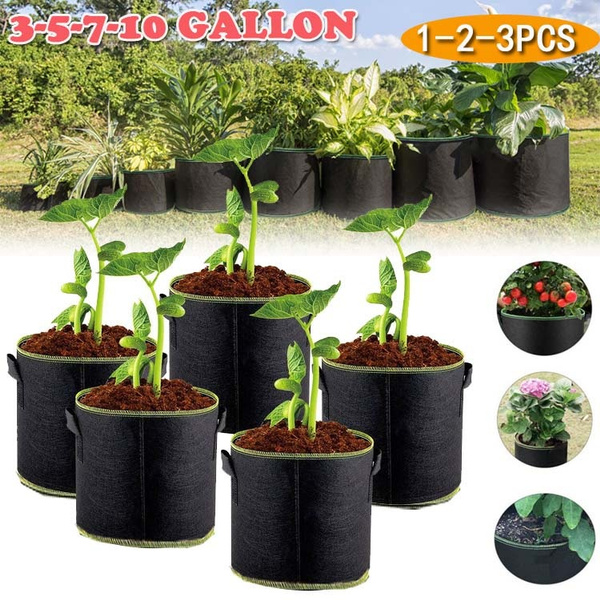Reusable Large Grow Bag Planter Vegetable Tomato Potato Carrot Garden Plant Pot
