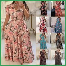 plaid, Print Dresses, Sleeve, long dress
