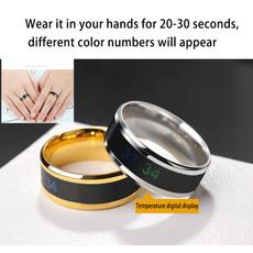 Couple Rings, temperaturemeasurement, squillare, misuradellatemperatura