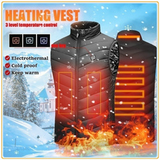 Vest, heatedjacket, Winter, Hiking