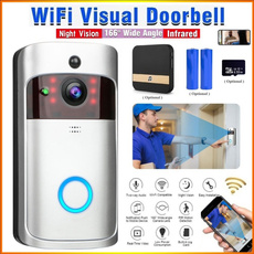 wirelessdoorbell, Remote, nightvisiondoorbell, doorbellcamera