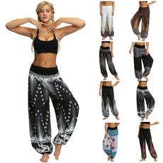 drawstringpant, Summer, Leggings, Fashion