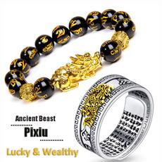 wealthamulet, Jewelry, Chinese, unisex