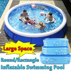 Summer, familyswimmingpool, Garden, Family