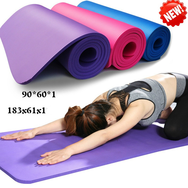 High Quality For Childs And Adults Yoga Mat Non Slip Fitness Pad Workout Exercise Gym Meditation Accessory Tool Wish