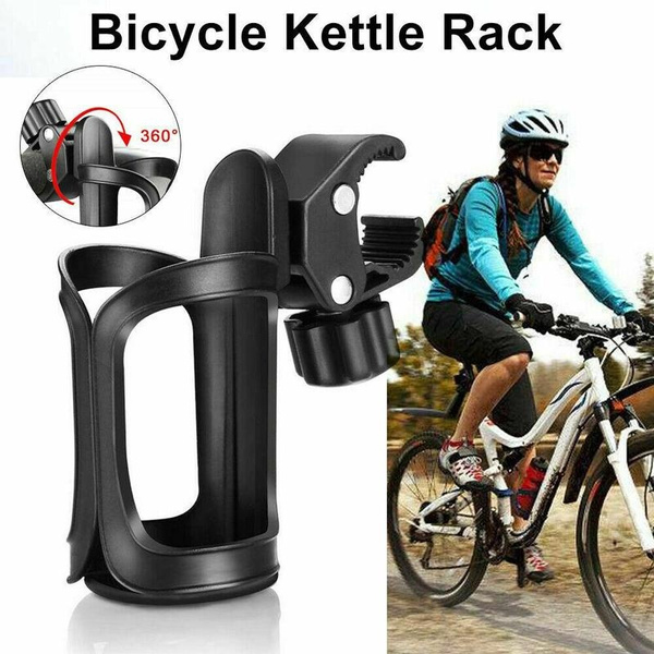 360° Rotation Bike Bicycle Bottle Cages Handlebar Mount Drink Water Cup Holders