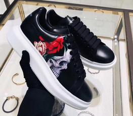Sneakers, leather, alexander, mcqueen