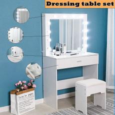dressingtable, Decor, bedroomdecor, led