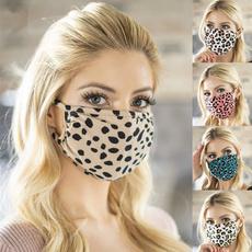 cute, Leopard, Fashion, mouthmask