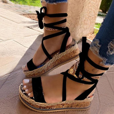 Summer, Flip Flops, Sandals, Platform Shoes