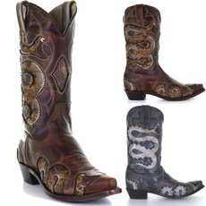 autumnwinter, Fashion, Boots, snake