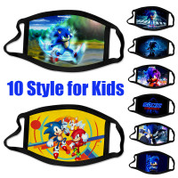 Face Mask Sonic Hedgehog 2020 Mask Fabric Reusable Washable Wish