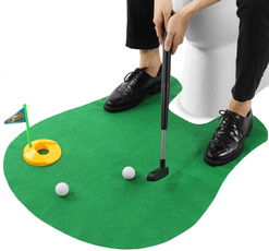 toilet, Training, Set, Golf
