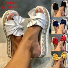 beach shoes, sandalendamen, Flowers, Womens Shoes