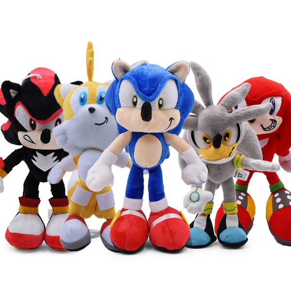 30cm Sonic Plush Doll Toys Hot Sale Sonic Shadow Amy Rose Cotton Soft Stuffed Game Doll Toys For Kids Chris Gift For Kids Wish