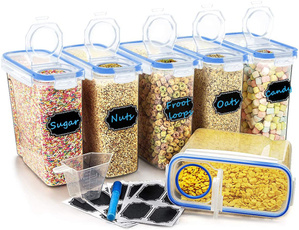 Blues, containersset, Cereal, Storage