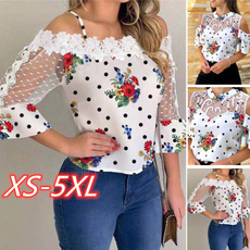 blouse, Summer, Plus Size, Encaje