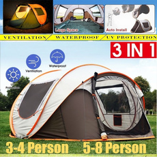 Hiking, Outdoor, doublelayertent, Sports & Outdoors