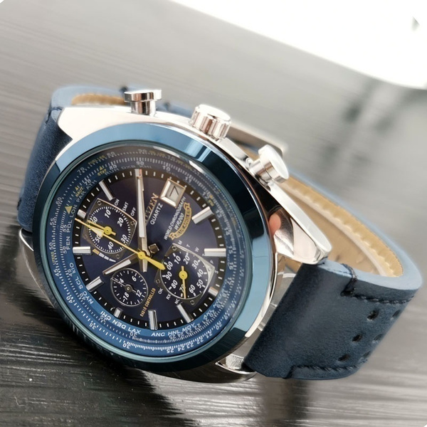 Chronograph, Blues, citizenwatche, Angel