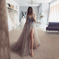 plus, evening, Dress, modest