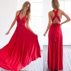 Multi, Fashion, Dress, long