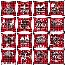 christmaspillowcase, decoration, Christmas, soft pillowcase