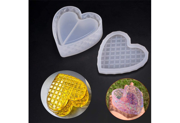 Making Props Epoxy Resin Storage Box Molds Silicone Casting Mould Crystal Glue