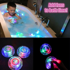 Bath, Bathroom, Toy, led