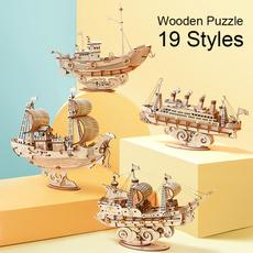 woodenassemblemodel, Toy, puzzletoysforkid, woodenassemblypuzzle