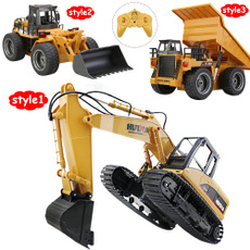 Toy, Remote Controls, Electric, excavator