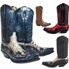 vintageboot, Fashion, Leather Boots, Cowboy