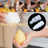 2PC DIY Rice Ball Mold Multipurpose Arancini Maker Kitchen Meat Ball Mold Reusable Sushi Mold DIY Handmade Bento Mould