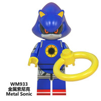 Custom Minifig Protector Sonic The Hedgehog Sonic Yellow Wish