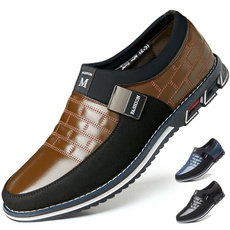 shoes men, Flats & Oxfords, businessofficeshoe, casual leather shoes