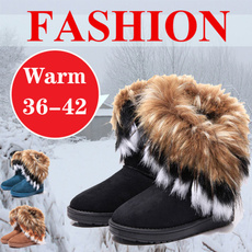 ankle boots, Fashion, fur, Winter