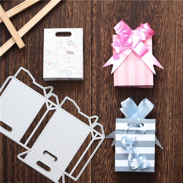Box Gifts Stencil For Diy Scrapbooking Paper Cards Crafts Metal Cutting Dies